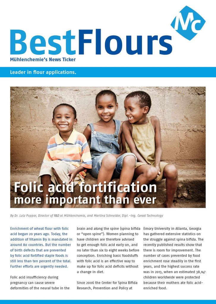Folic acid fortification,